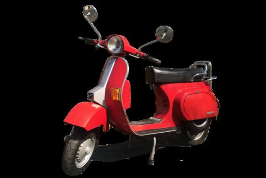 3. Preis 2021: Piaggio Roller Bj. 1983